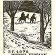 Picture in Focus: Flight into Egypt Woodcut by Michael Florian