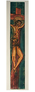 The Crucifixion (Turquoise)