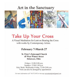 Out & About: Take Up Your Cross Exhibit at St. Peter