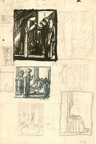 Page of Religious Sketches