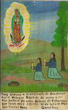 To the Virgin of Guadalupe
