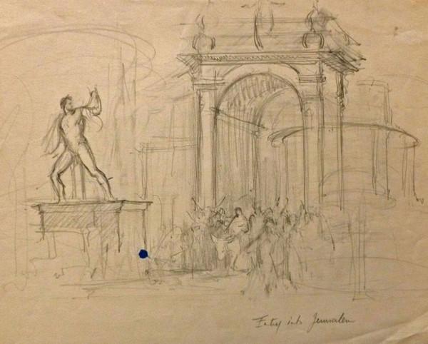 Line Drawing Jerusalem : File brooklyn museum types of jews jerusalem james tissot g