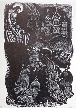 Picture in Focus: The Possessed by Fritz Eichenberg