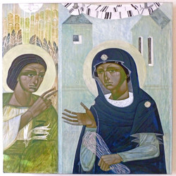 Week Forty-Six: The Annunciation by Ulyana Tomkevych