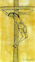 The Crucifixion (Yellow)
