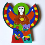 Salvadoran Wood Paintings