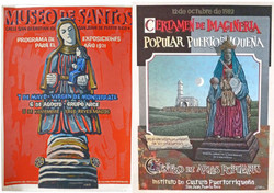 Pictures in Focus: Two Serigraphs of the Virgin of Monserrat by Lorenzo Homar and Sixto Cotto