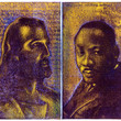 Pictures in Focus: Palimpsest Portraits of Jesus and Martin Luther King by Tyrus Clutter