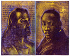 Palimpsest Portraits: Jesus and Martin Luther King