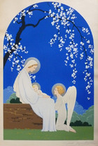 Madonna of the Flowering Tree