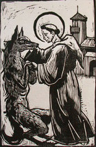 St. Francis & the Wolf of Gubbio