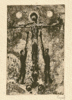 Picture in Focus: Crucifixion with Spear and Sponge by Bohuslav Reynek