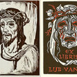Picture in Focus: Two Woodcuts of the Man of Sorrows by Jaroslav Vodrazka