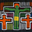 Pictures in Focus: Two Molas of the Crucifixion by Unknown Kuna Artists