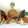 Picture in Focus: Wood Cut-Outs Nativity Scene by Gunther Keil
