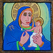 Picture in Focus: Madonna and Child (After Giotto) by Carl Dixon