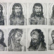 Pictures in Focus: Faces of Jesus Wood Engraving by Louis Jou