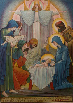 Week Forty-Eight: The Adoration of the Shepherds by Jos Speybrouck