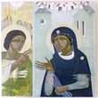Picture in Focus: Icon of the Annunciation by Ulyana Tomkevych