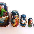 Picture in Focus: Russian Nesting Doll Nativity Set by Alexander Soshin