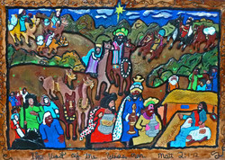 Picture in Focus: The Visit of the Wise Men by Carl Dixon