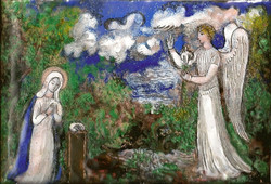 Week Forty-Five: The Annunciation by Hermine David