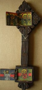 Hand-held Processional Cross (open)