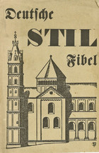 Book Jacket (Deutsche Stilfibel)