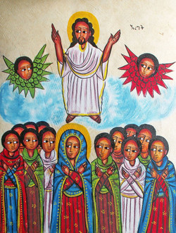 Picture in Focus: Christ Ascends to Heaven by an Unknown Ethiopian Artist