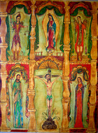 Our Lord of Esquipulas Altar screen