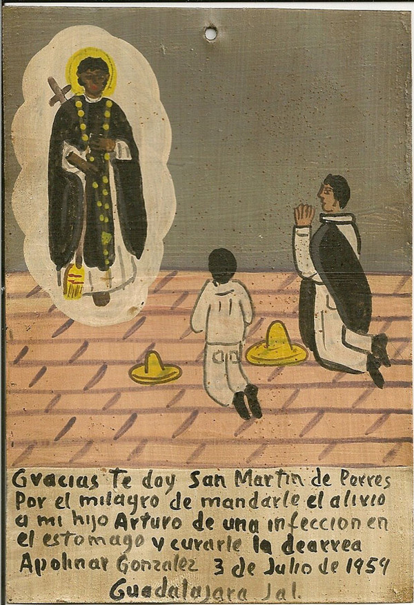 Mexican Ex Votos Sacred Art Pilgrim Collection Schools