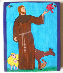 Picture in Focus: St. Francis by Angelica Lopez