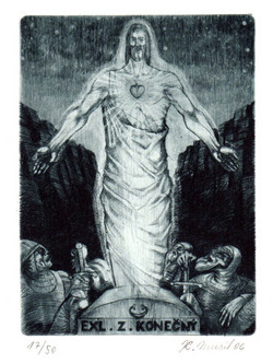 Picture in Focus: Ex Libris of the Resurrection by Karel Musil